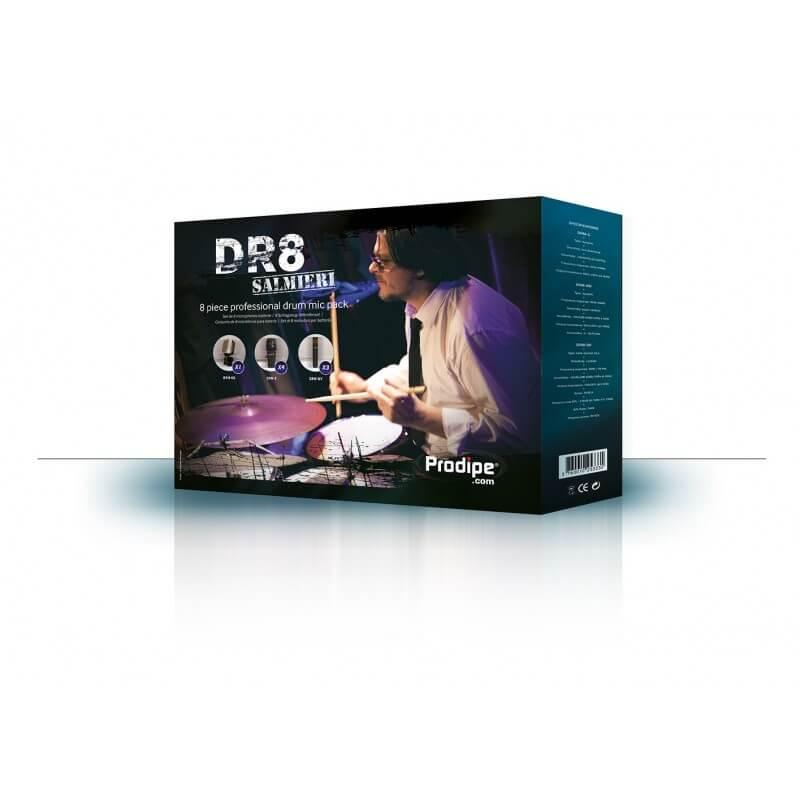 DR8 Salmiéri Prodipe - Ein 8-teiliges Mikrofonset für Schlagzeug