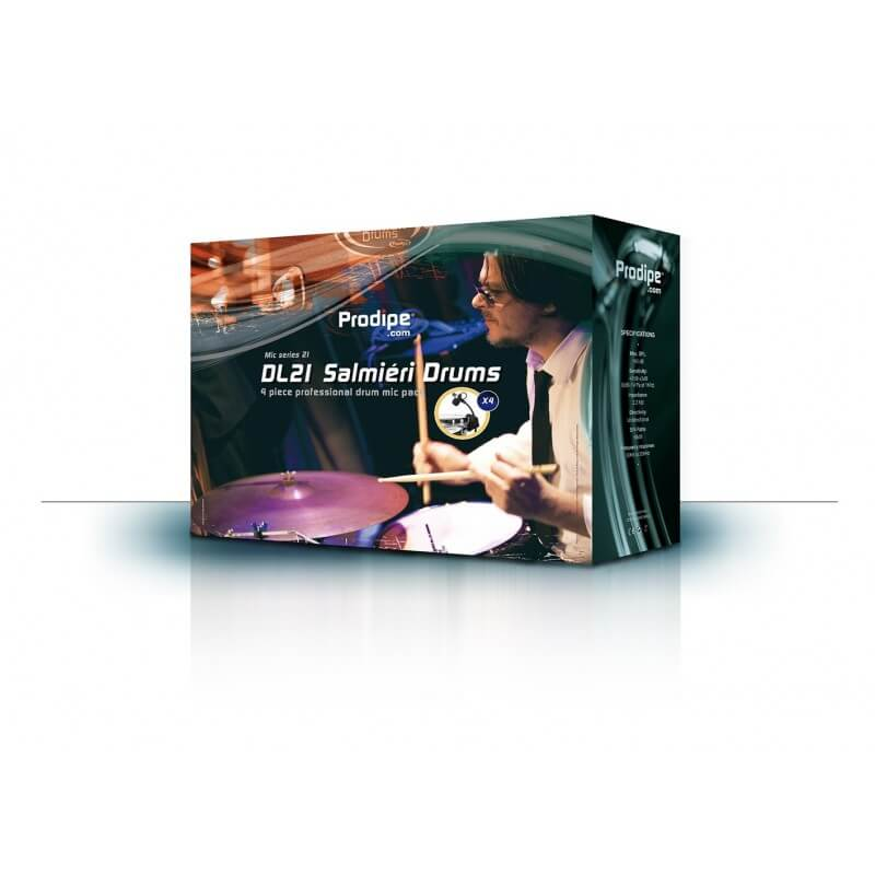 Micro instrument DL 21 Set micros instrument DL21 Salmiéri Drums Prodipe