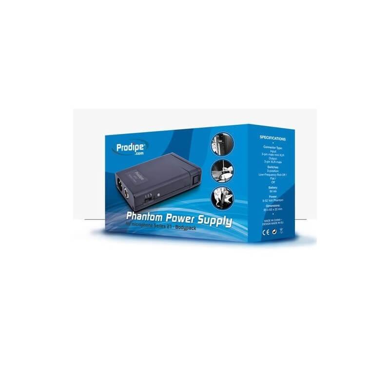 BP 21 Battery Pack für Prodipe Instrumentenmikrofone der Serie 21