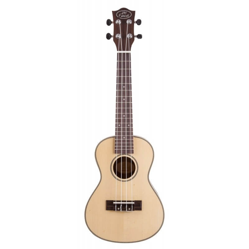 BC 320 Ukulele Concert dos bombé Epicéa 23'' Prodipe guitars JM Forest JMFBC320