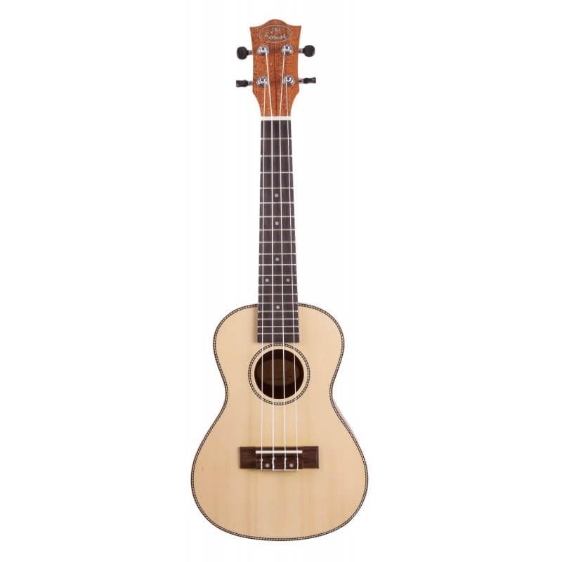 BC 300 Ukulele Concert Dos bombé 23'' Epicéa Prodipe guitars JMFBC300