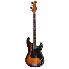 PB70RASUNB Sunburst Bass Guitar Prodipe Guitar JM Forest JMFPB70RASUNB