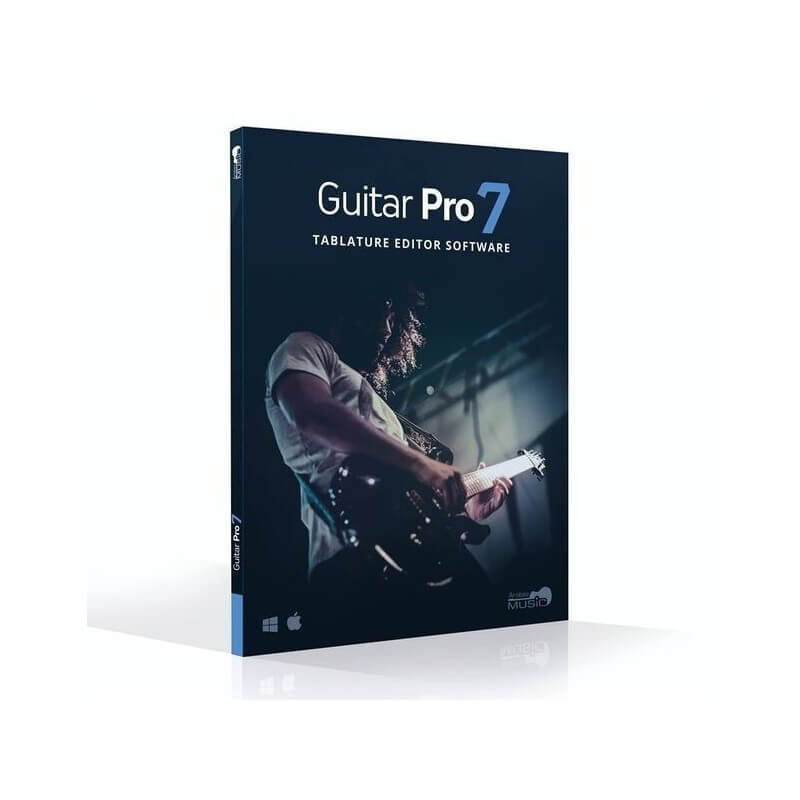Guitar Pro 7 edit tablatures for guitar bass