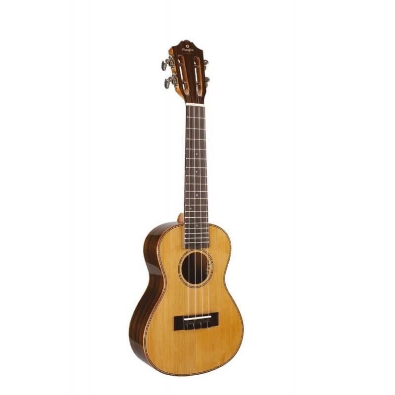 BC 420 Ukulele Concert Dos bombé 23'' Cèdre Palissandre Prodipe guitars JMFBC420