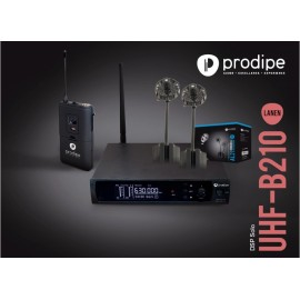 UHF B210 DSP Solo V2 AL21 Prodipe pack with Series 21 mics AL21