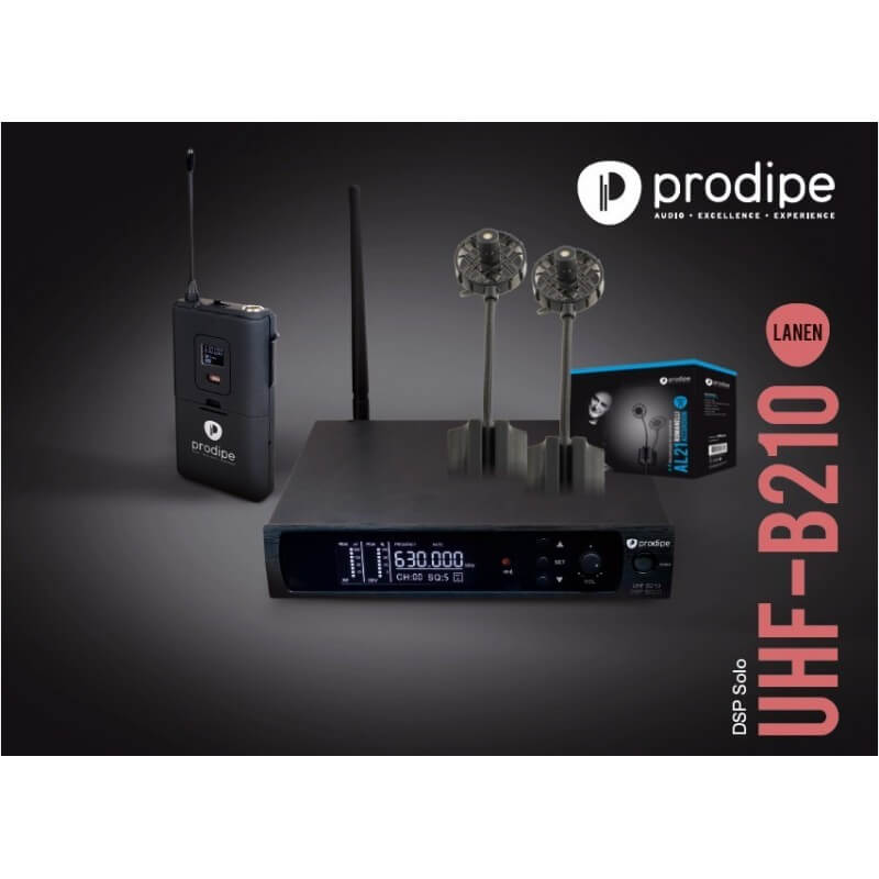 UHF B210 DSP Solo V2 AL21 Prodipe pack avec micro série 21 AL21