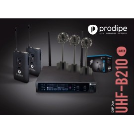 UHF B210 DSP Duo V2 AL21 Prodipe pack with Series 21 mics AL21