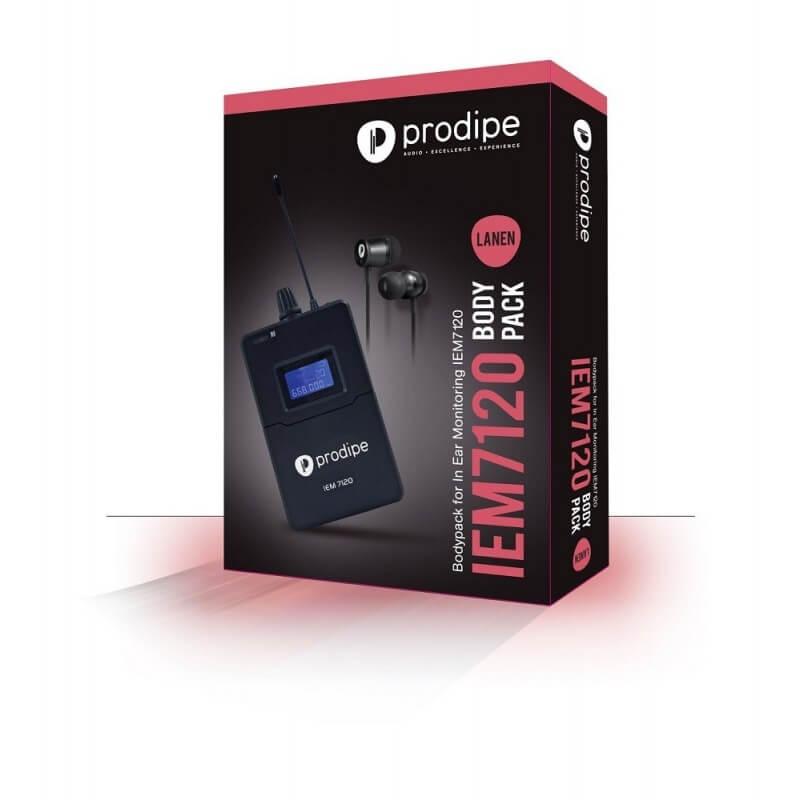 IEM 7120 Body pack Prodipe In-ear monitors IEM 7120 sans fil Wireless