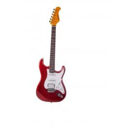 ST 83 RA CAR Guitare Électrique Candy Red Prodipe Guitars JMFST83RACAR