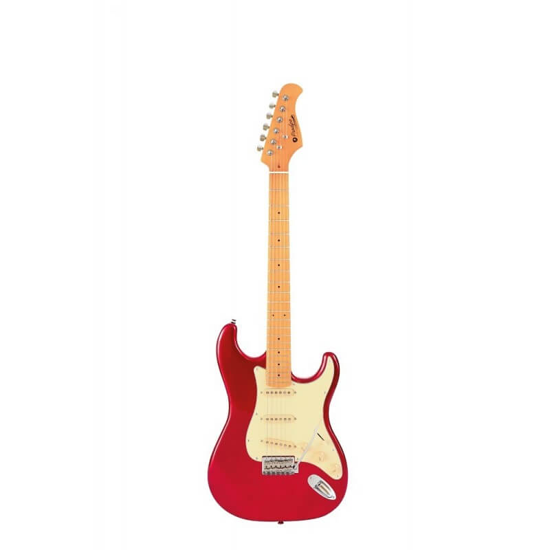 ST 80 MA E-Guitar Candy Red Prodipe Guitars JMFST80MACAR