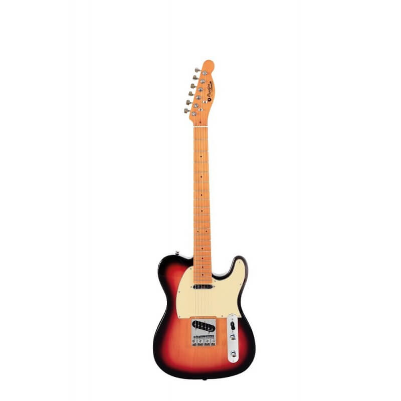 TC80 MA SB Sunburst Guitare électrique Prodipe Guitars JMFTC80SB