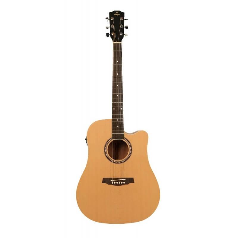 SD25CEQ Dreadnought Cut Elektroakustische Gitarre PRODIPE GUITARS JM Forest JMFSD25CEQQ