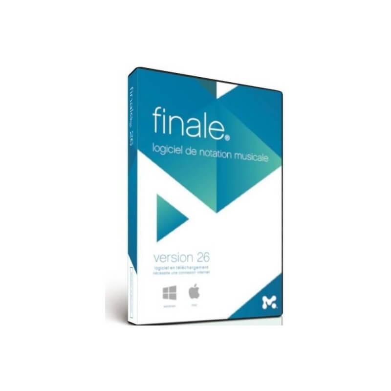 Finale 26 FR Make Music Editeur de partition Midi Audio