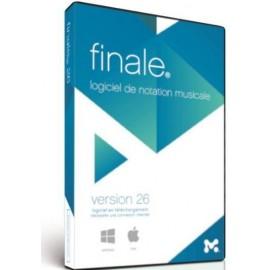 Mise a jour Finale 26 FR Make Music Editeur de partition Midi Audio