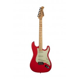 ST 80 MA Guitare Electrique Fiesta Red Prodipe Guitars JMFST80MAFR