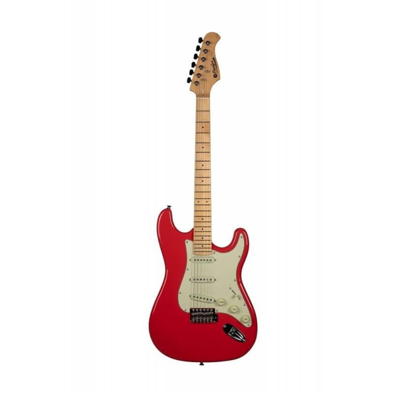 ST 80 MA Electric Guitarre Fiesta Red Prodipe Guitars JMFST80MAFR