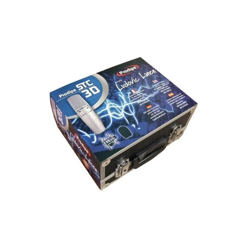STC-3D Microphone Studio Ludovic Lanen UNI-BI-OMNI directionnel Prodipe
