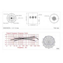 Instrumentenmikrofone CL21 Lanen Cello Prodipe