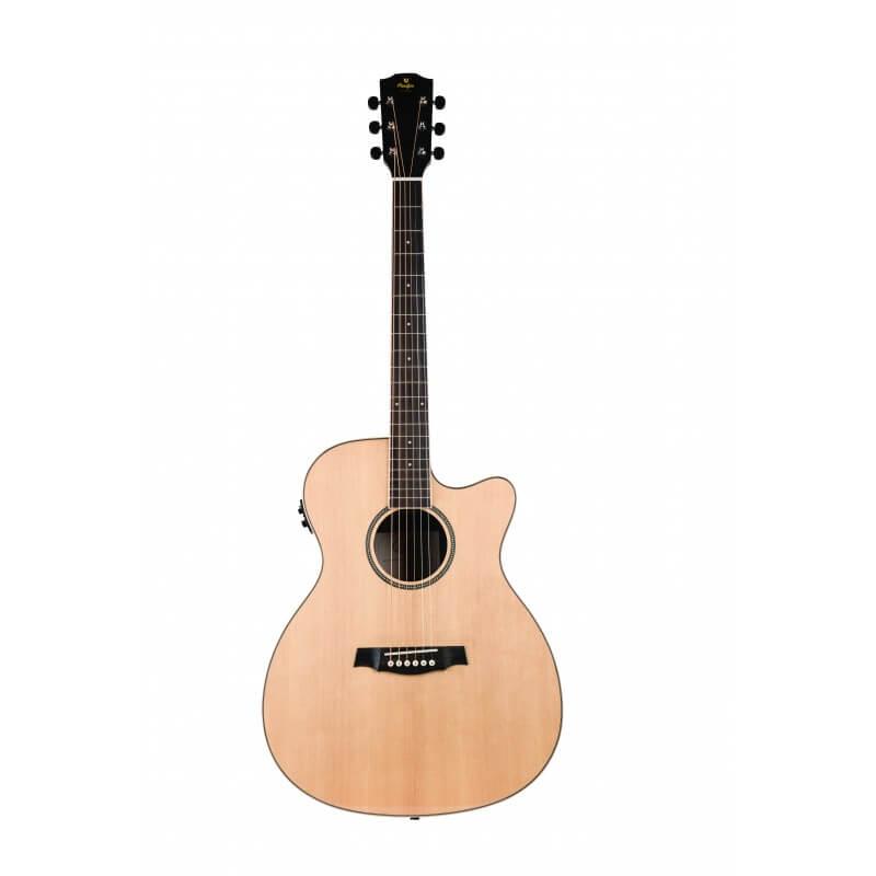 SGA100CEQ Guitare Electro-Acoustique Solid Fine Wood Auditorium Cut Electro Prodipe Guitars JM Forest JMFSGA100CEQ