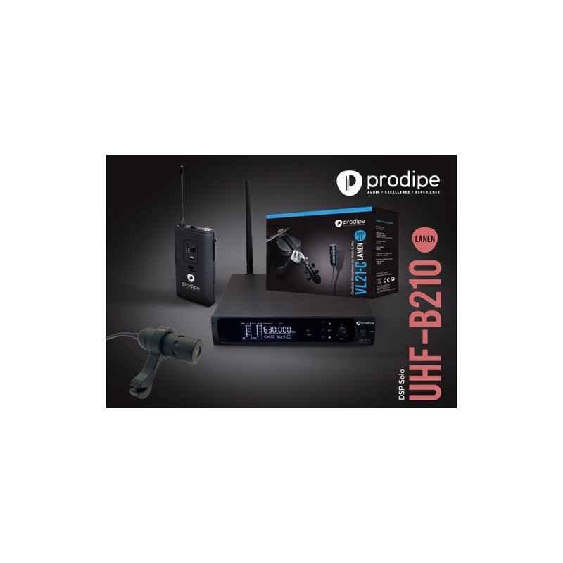 UHF B210 DSP Solo Prodipe mit mikrophon series 21 VL21-C