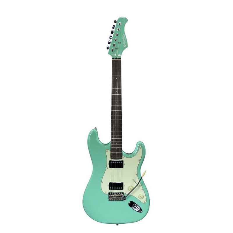 ST 2H RA SG Electric Guitar Surf Green Prodipe Guitars ST2HRASG