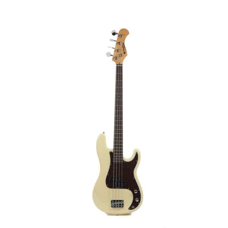 PB80RAVW Bass Guitar Vintage White Prodipe Guitars JMFPB80RAVW