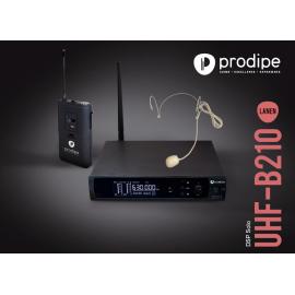 UHF B210 DSP V2 Headset Solo Prodipe sans fil Wireless