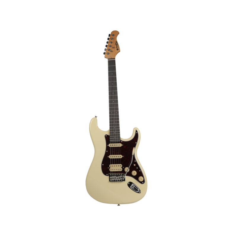 ST 83 RA VW Electric Guitar Vintage White Prodipe Guitars JMF ST83RAVW
