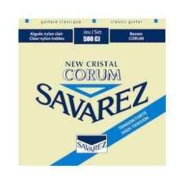 Cordes : SAVAREZ New Cristal Corum tension forte (Réf : 500 CJ)