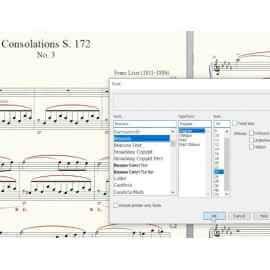 Finale 27 format de police SMuFL (Standard Music Font Layout)