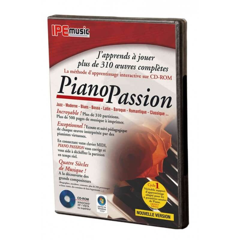 Piano Passion 2 Indispensable for learning the piano