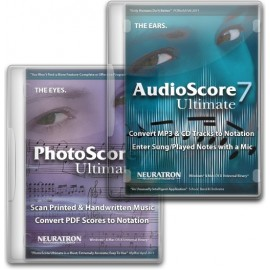 Neuratron Bundle PhotoScore Ultimate 7 & AudioScore Ultimate 7
