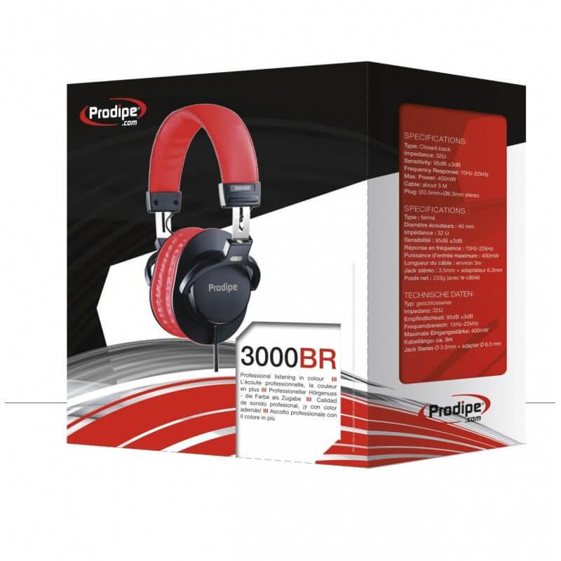 Prodipe 3000BR - Casque d'écoute polyvalent