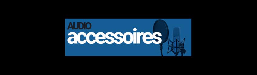 Accessoires microphone Prodipe, clamps, pied de microphone, barette stéréo