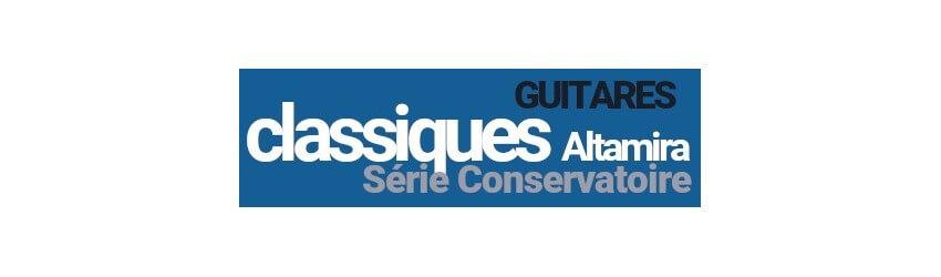 Guitares Classiques Prodipe Guitars Altamira Série Conservatoire