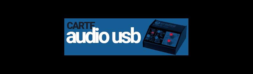 Carte Audio USB Prodipe Studio 12 ESI Audio Prodipe Maya 44 USB ESU1818 Gigaport HD