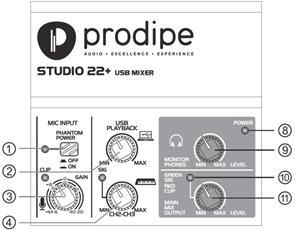 Prodipe Studio 22 +