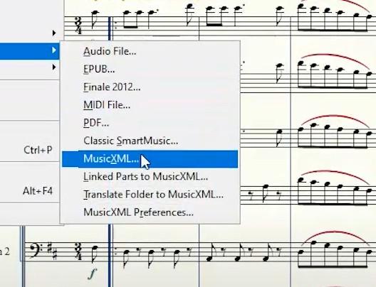 Nouvelle version de MusicXML 4.0