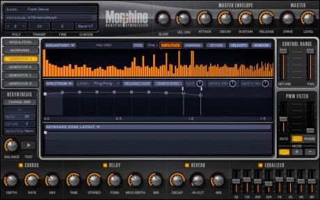 Morphine FLStudio ist ein additiver Synthesizer